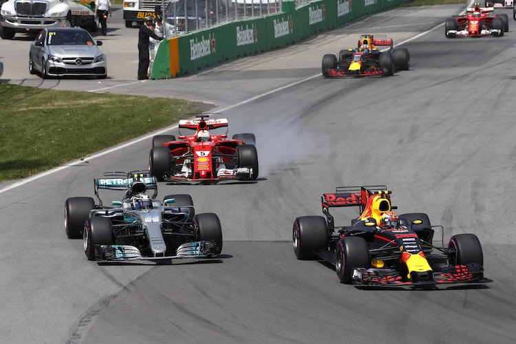 Hamilton in Montreal auf Pole Position