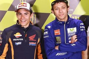 Marc Márquez und Valentino Rossi: Der Italiener verlangt von den Fans Respekt vor den Gegnern