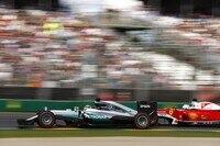 Mercedes blieb das ganze Jahr über vor Ferrari