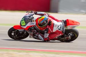 Xavier Simeon mit der Speed Up in Aragón