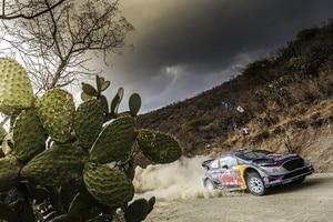 Sébastien Ogier wurde in Mexiko Zweiter