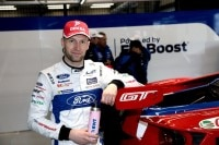 Werksfahrer: Stefan Mücke in der Ford-Box
