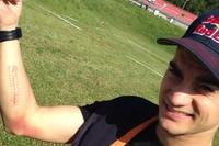 Dani Pedrosa: rechter Unterarm geschwollen