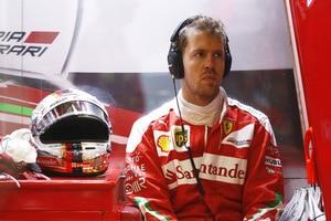 Sebastian Vettel: «Das Problem ist, dass unsere echten Regenreifen nicht gut genug sind»