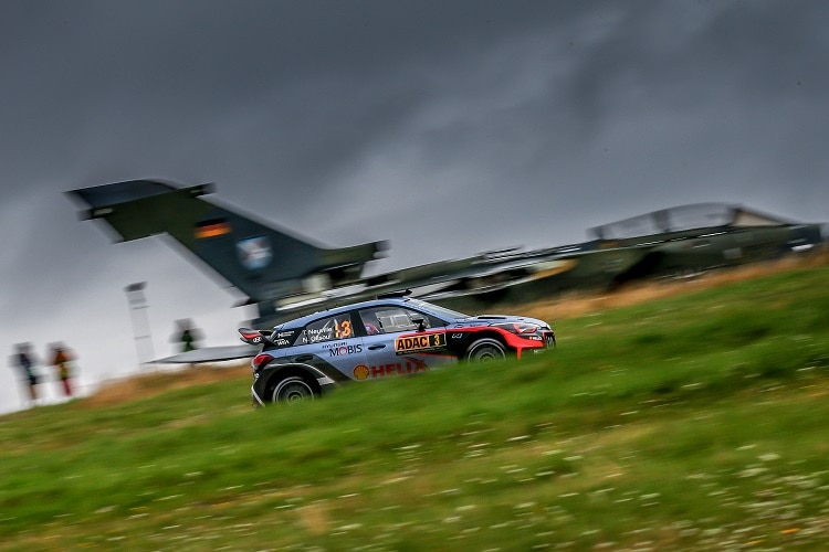 Ott Tänek gewinnt die Deutschland-Rallye