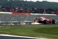 Ferrari hatte in England kein Glück
