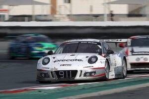 Der Porsche 911 GT3 R von Herberth Motorsport gewann das 24h-Rennen in Dubai