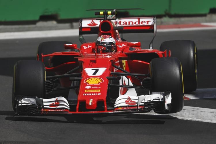 Kimi Räikkönen in Baku