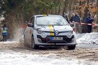 Renault Twingo bei der deutschen «Winterrallye»