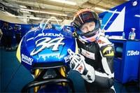Haudegen Kevin Schwantz mit der Suzuki