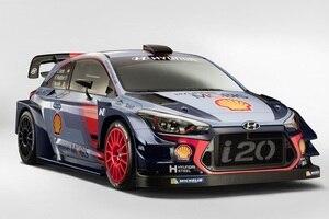 Der Hyundai i20 WRC 2017