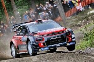 Kris Meeke bei der Rallye Finnland