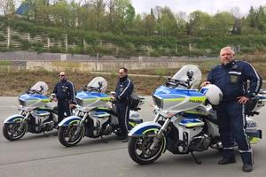 Die Polizei von Chemnitz fährt nicht (nur) BMW, sondern (auch) Victory