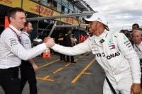 James Allison und Lewis Hamilton