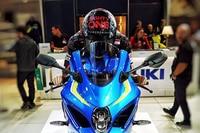 Dominic Schmitter auf der neuen Suzuki GSX-R1000R