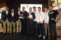 Das grosse Zusammentreffen des Valencia CF mit dem Aspar-Team