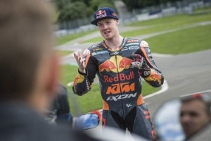 Bradley Smith als «Go with your Pro»-Instrukteur in Spielberg