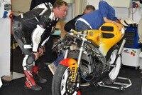 Ralf Waldmann: Leder zerschlissen, Honda beschädigt
