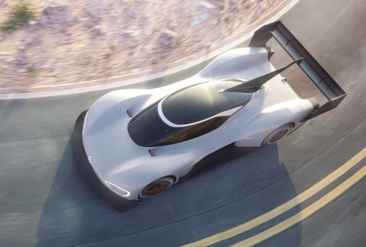 Volkswagen stellt den elektrischen ID R für Pikes Peak vor