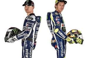 Jorge Lorenzo und Valentino Rossi trennen derzeit nur 14 Punkte