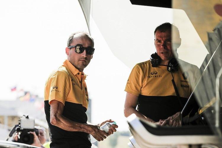 Robert Kubicas Rückkehr in den F1-Boliden