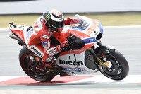 Jorge Lorenzo auf der Ducati Desmosedici