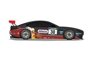 Bekannte Farben auf einem neuen Auto, der BMW M6 GT3 vom Frikadelli Racing Team