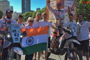 Die deutsch-indische Kooperation bei der Rallye Dakar 2017 war erfolgreich