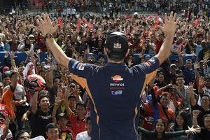 Großartiger Empfang für MotoGP-Weltmeister Marc Márquez in Indonesien