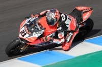 Michael Rinaldi bei den Superbike-Tests in Jerez im November