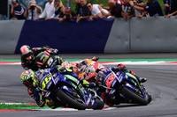 Im Rennen: Rossi vor Viñales, Pedrosa und Zarco