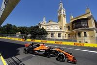 Fernando Alonso in Baku
