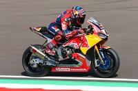 Stefan Bradl auf seiner Superbike-Honda