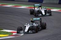 Auch Mercedes ließ den Motor bereits an