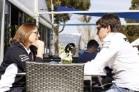Toto Wolff mit Claire Williams