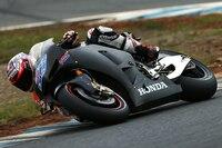 Casey Stoner heute beim Motegi-Tst auf der Honda RCV1000R