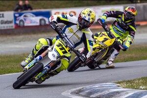 Markus Class (111) gewann in Harsewinkel beide Rennen vor Andre Plogmann (1)