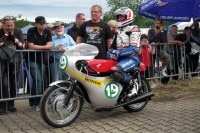 Freddie Spencer vor dem Start