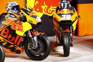 Die KTM RC16 von Pol Espargaró und Bradley Smith