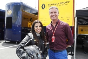 David Coulthard (rechts)