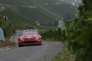 Sébastien Loeb gewann 2002 den ersten deutschen WM-Lauf