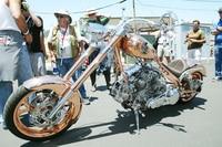 Zahlreiche Biker kamen nach Laguna