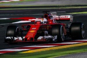 Sebastian Vettel in Spanien