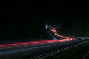 Atemberaubende Perspektiven in der Nacht des 24h Rennens am Nürburgring