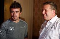 Fernando Alonso und Zak Brown