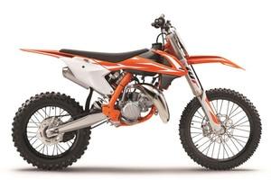 Neukonstruktion: Die KTM 85 SX soll den Nachwuchs in jungen Jahren zur Marke bringen oder die Markentreue der Jugend festigen