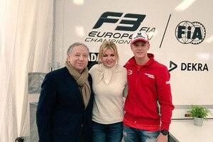 Jean Todt freute sich über das Treffen mit Corinna und Mick Schumacher