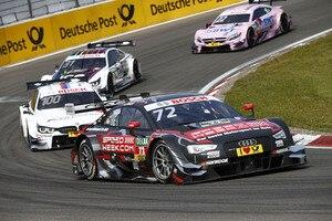 René Rast sprang bei Audi ein