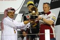 Katar-GP: QMMF-Chef Al Attiyah, Mika Kallio (Platz 2) und Bartholemy