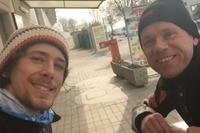 In Pomposa trainierten wir gemeinsam Supermoto und Motocross.